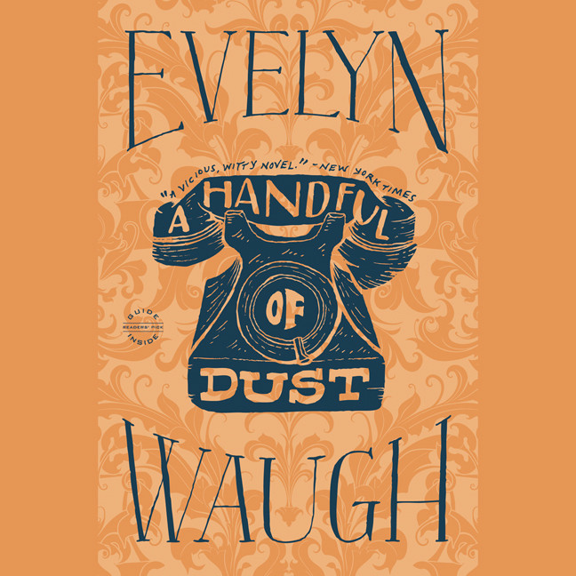 Printable A Handful of Dust Audiobook Cover Art
