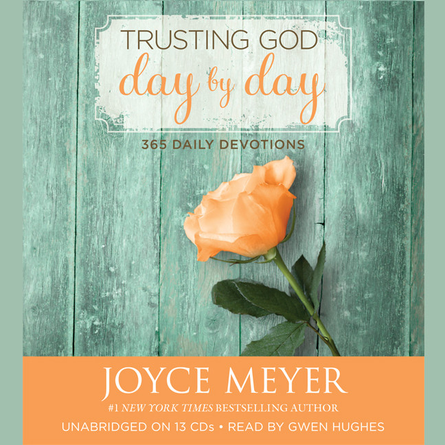 Printable Trusting God Day by Day: 365 Daily Devotions Audiobook Cover Art