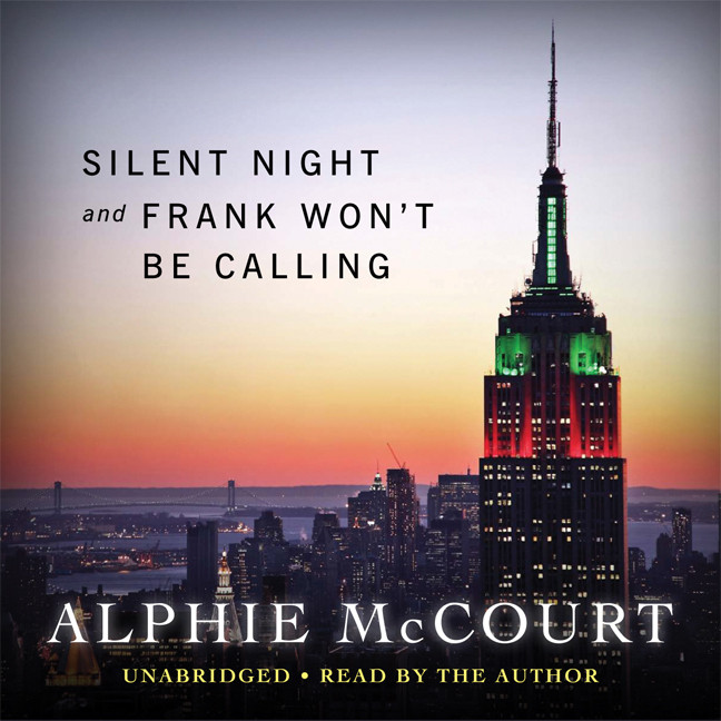 Printable Silent Night and Frank Won't Be Calling This Year Audiobook Cover Art