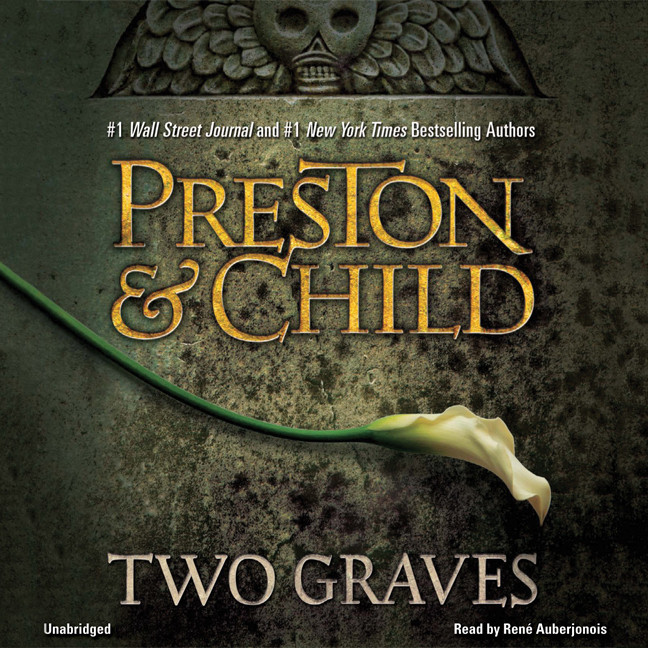 Printable Two Graves Audiobook Cover Art