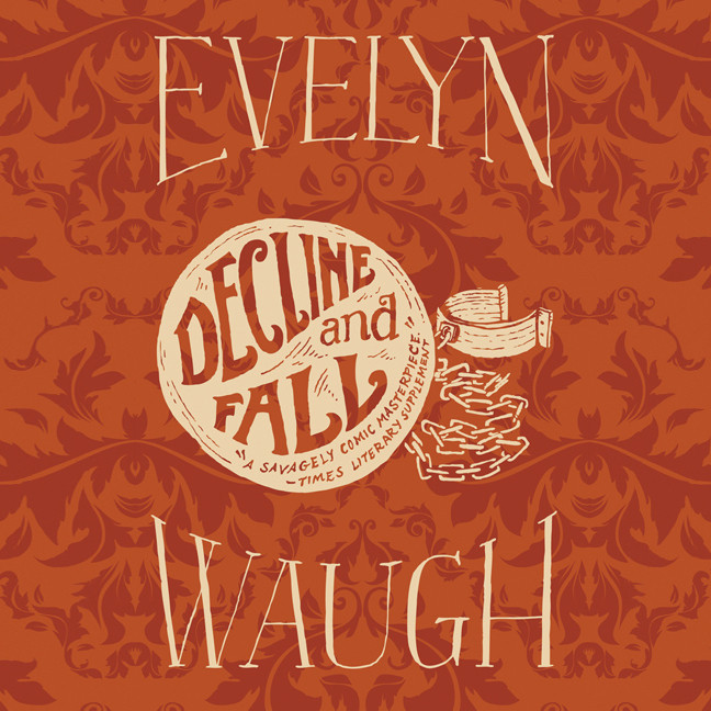 Printable Decline and Fall Audiobook Cover Art