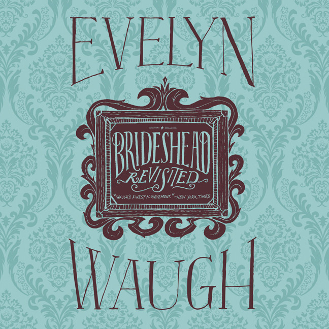 Printable Brideshead Revisited Audiobook Cover Art