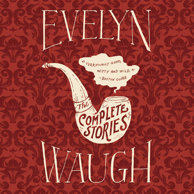 Printable The Complete Stories of Evelyn Waugh Audiobook Cover Art
