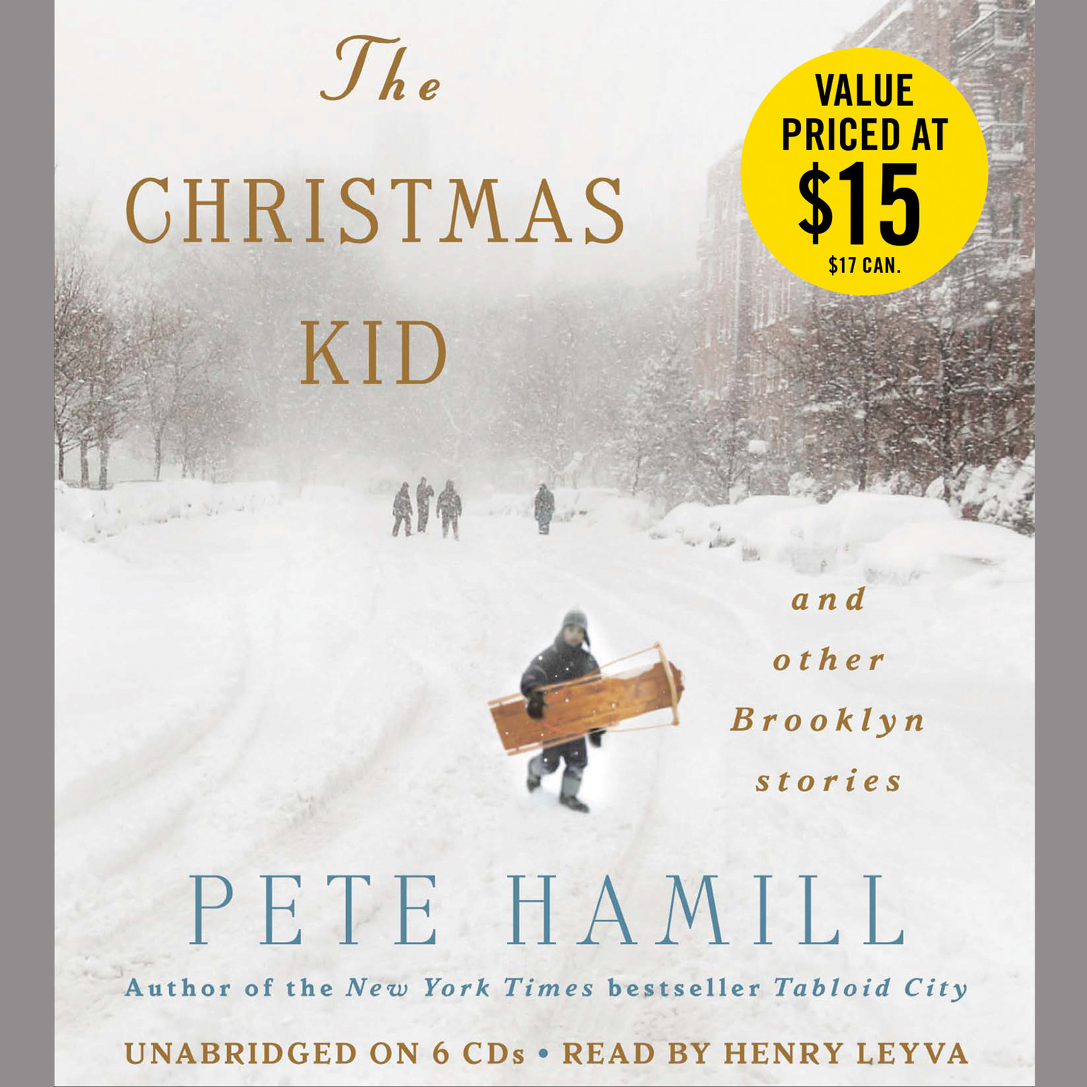 Printable The Christmas Kid: And Other Brooklyn Stories Audiobook Cover Art