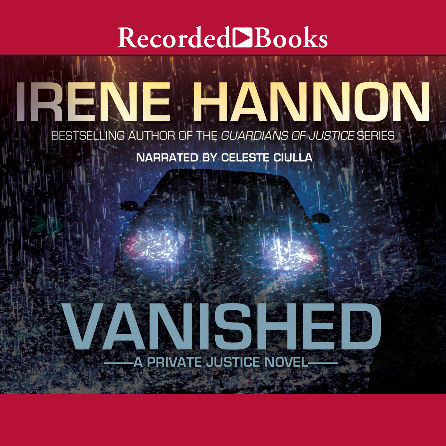Printable Vanished Audiobook Cover Art