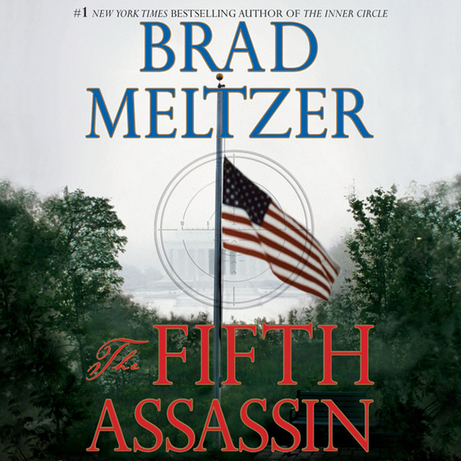 Printable The Fifth Assassin Audiobook Cover Art