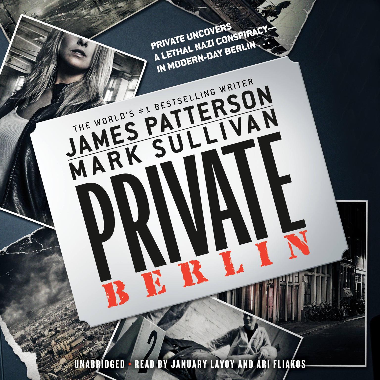 Printable Private Berlin Audiobook Cover Art