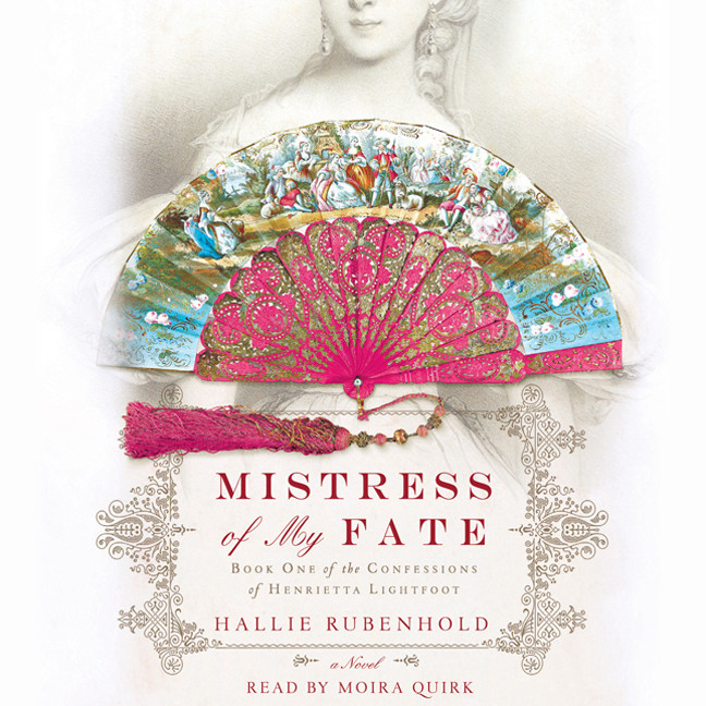 Printable Mistress of My Fate Audiobook Cover Art
