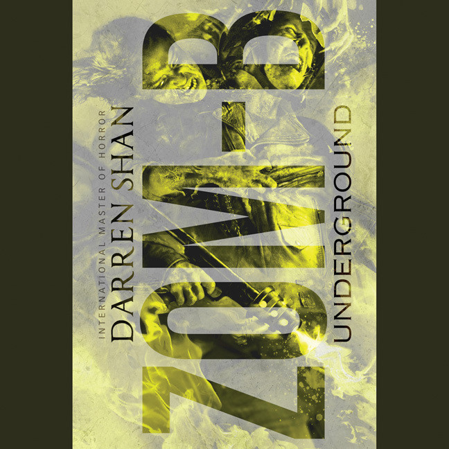 Printable Zom-B Underground Audiobook Cover Art