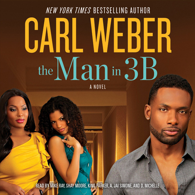 Printable The Man in 3B Audiobook Cover Art