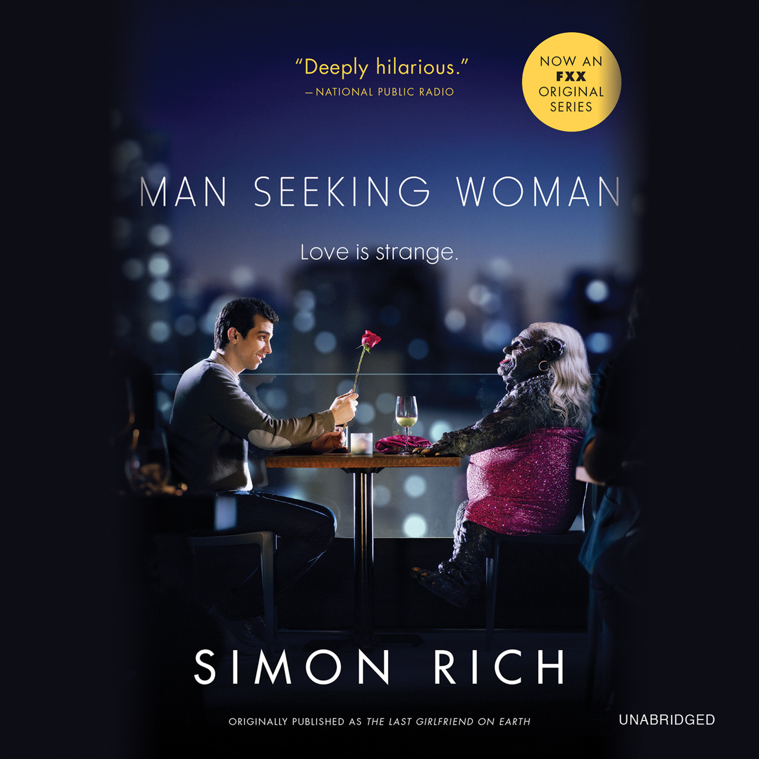 Printable Man Seeking Woman: And Other Love Stories Audiobook Cover Art