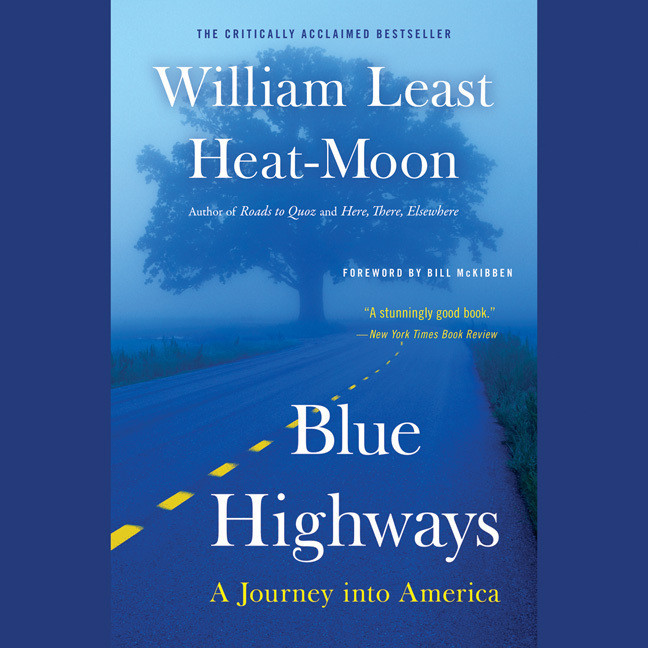 Printable Blue Highways: A Journey into America Audiobook Cover Art