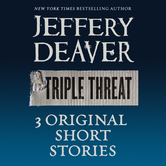 Printable Triple Threat Audiobook Cover Art