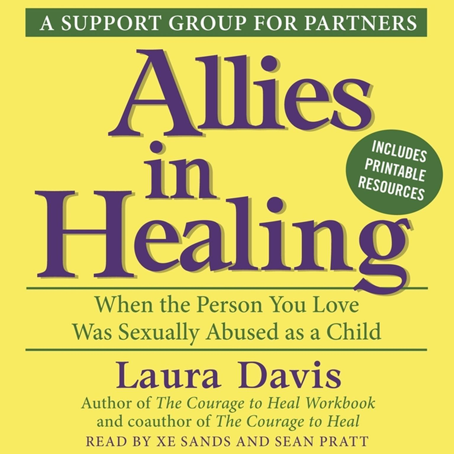 Printable Allies in Healing: When the Person You Love Is a Survivor of Child Sexual Abuse Audiobook Cover Art