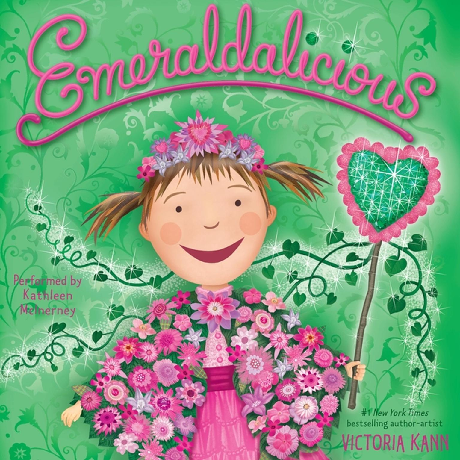 Printable Emeraldalicious Audiobook Cover Art