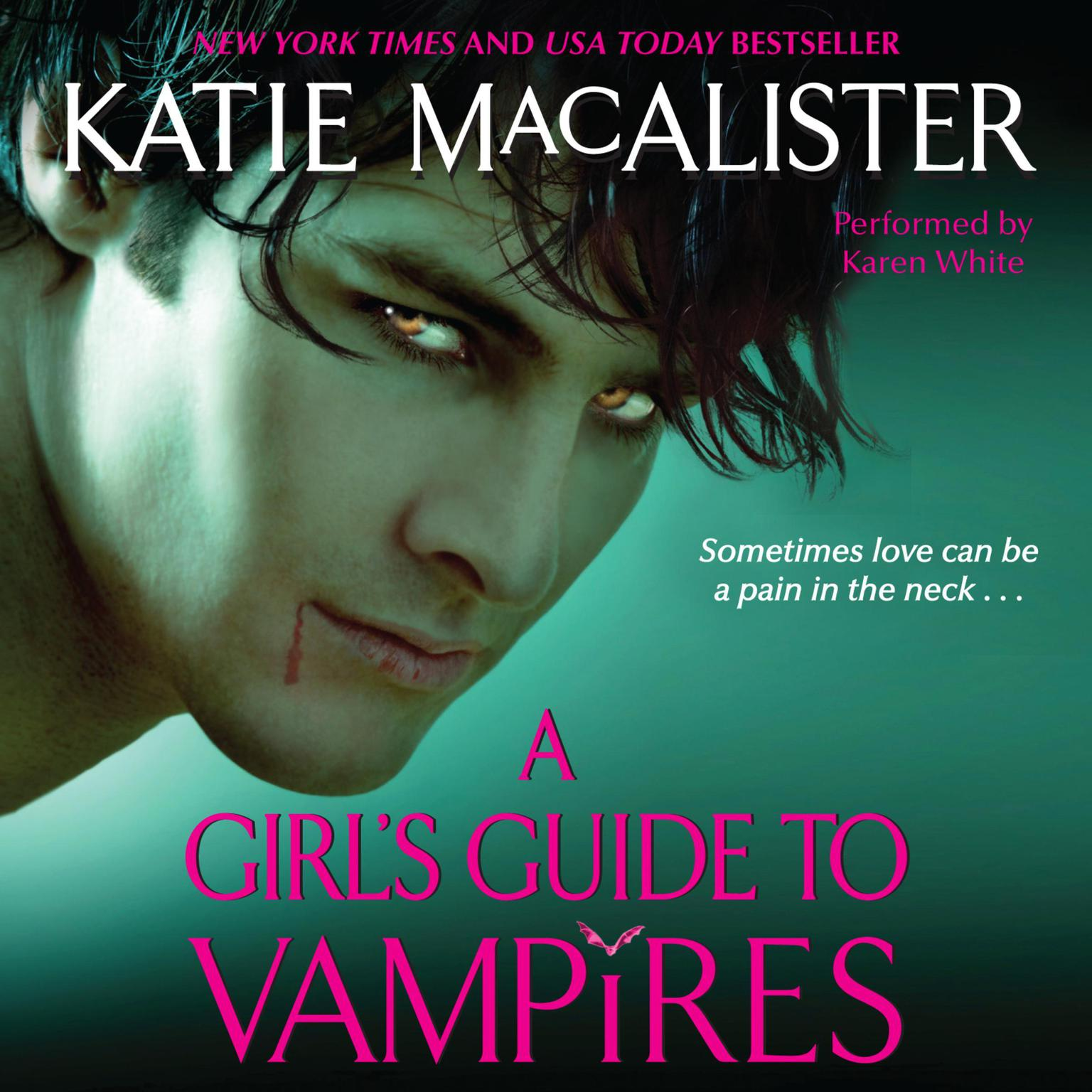 Printable A Girl's Guide to Vampires Audiobook Cover Art