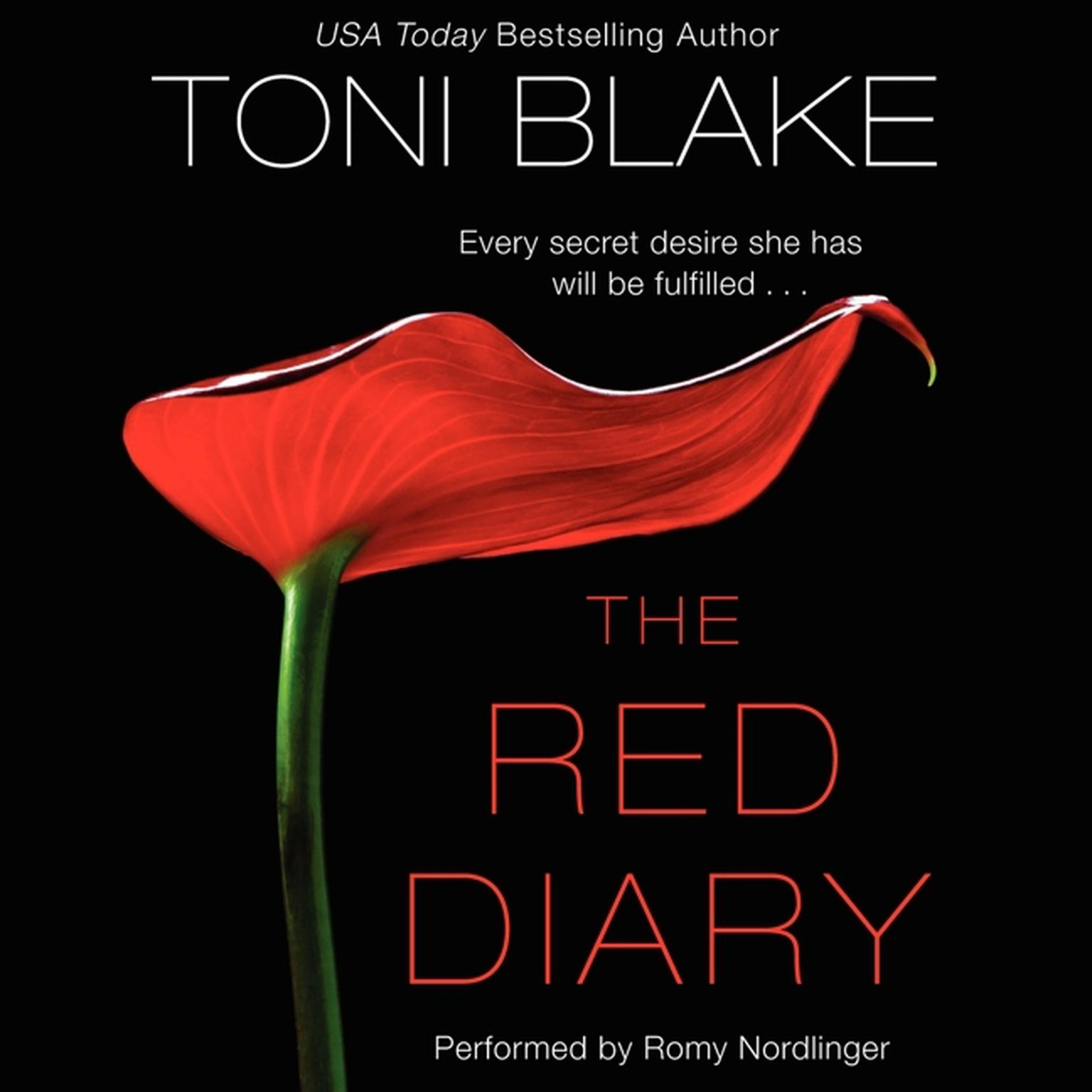 Printable The Red Diary Audiobook Cover Art
