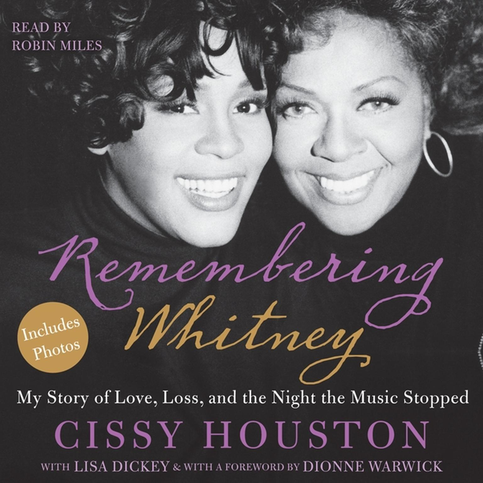 Printable Remembering Whitney: My Story of Love, Loss, and the Night the Music Stopped Audiobook Cover Art