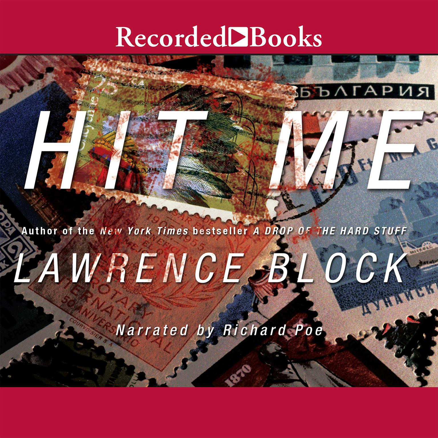 Printable Hit Me Audiobook Cover Art