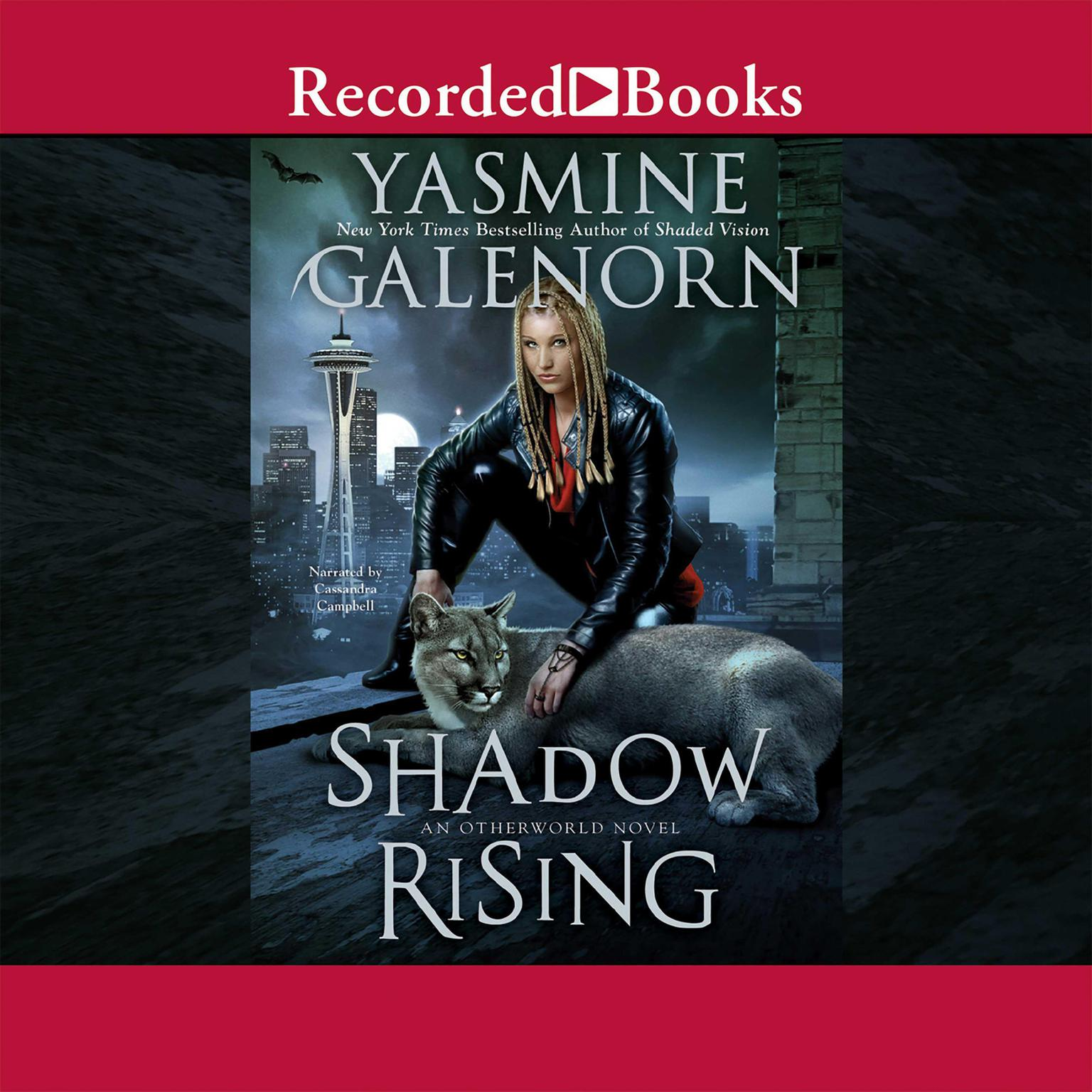 Printable Shadow Rising: An Otherworld Novel Audiobook Cover Art