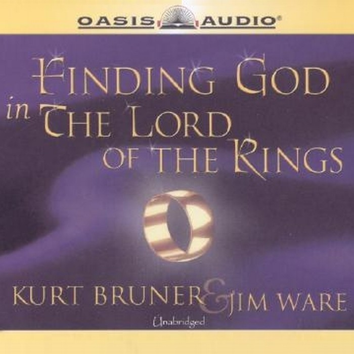 Printable Finding God in The Lord of the Rings Audiobook Cover Art