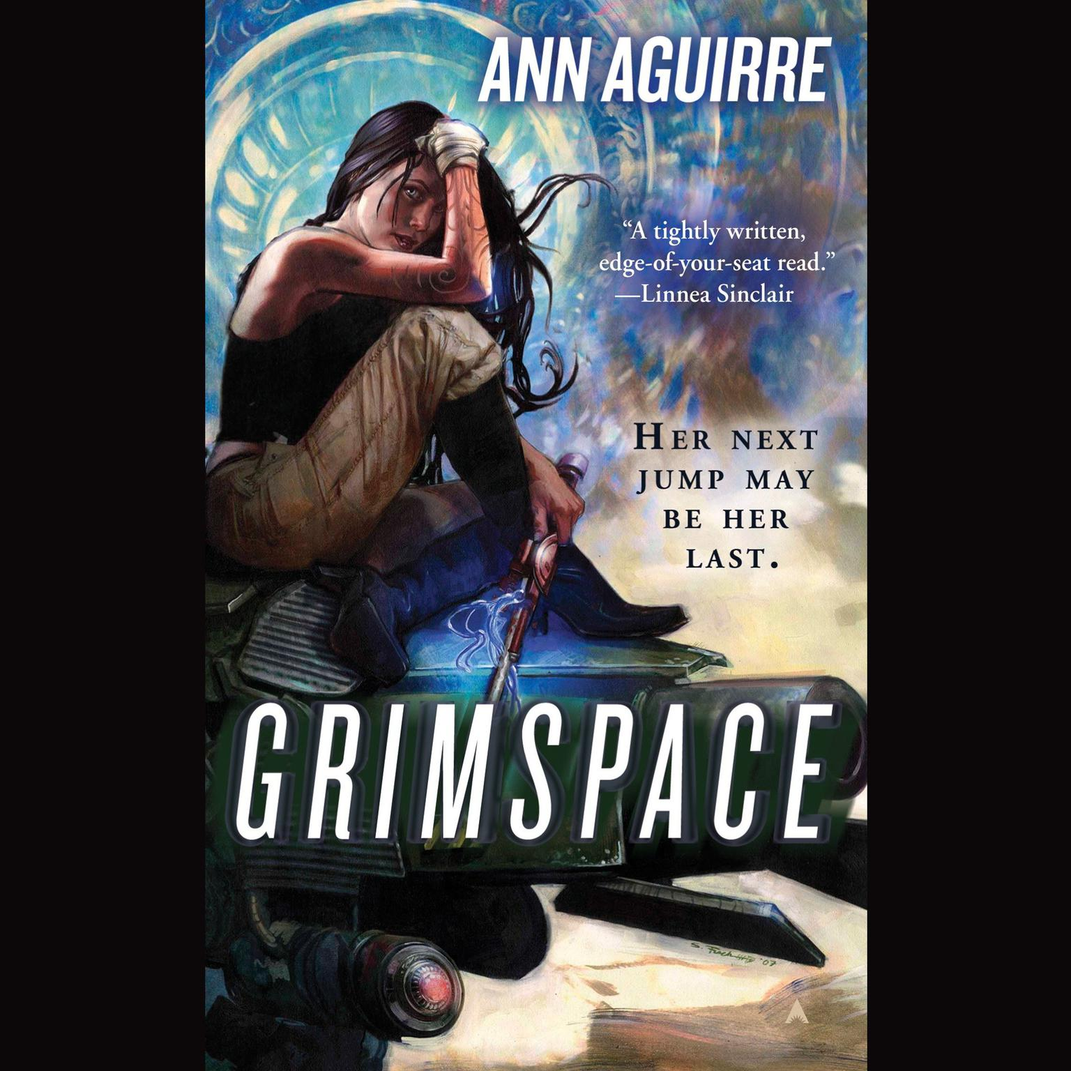 Printable Grimspace Audiobook Cover Art