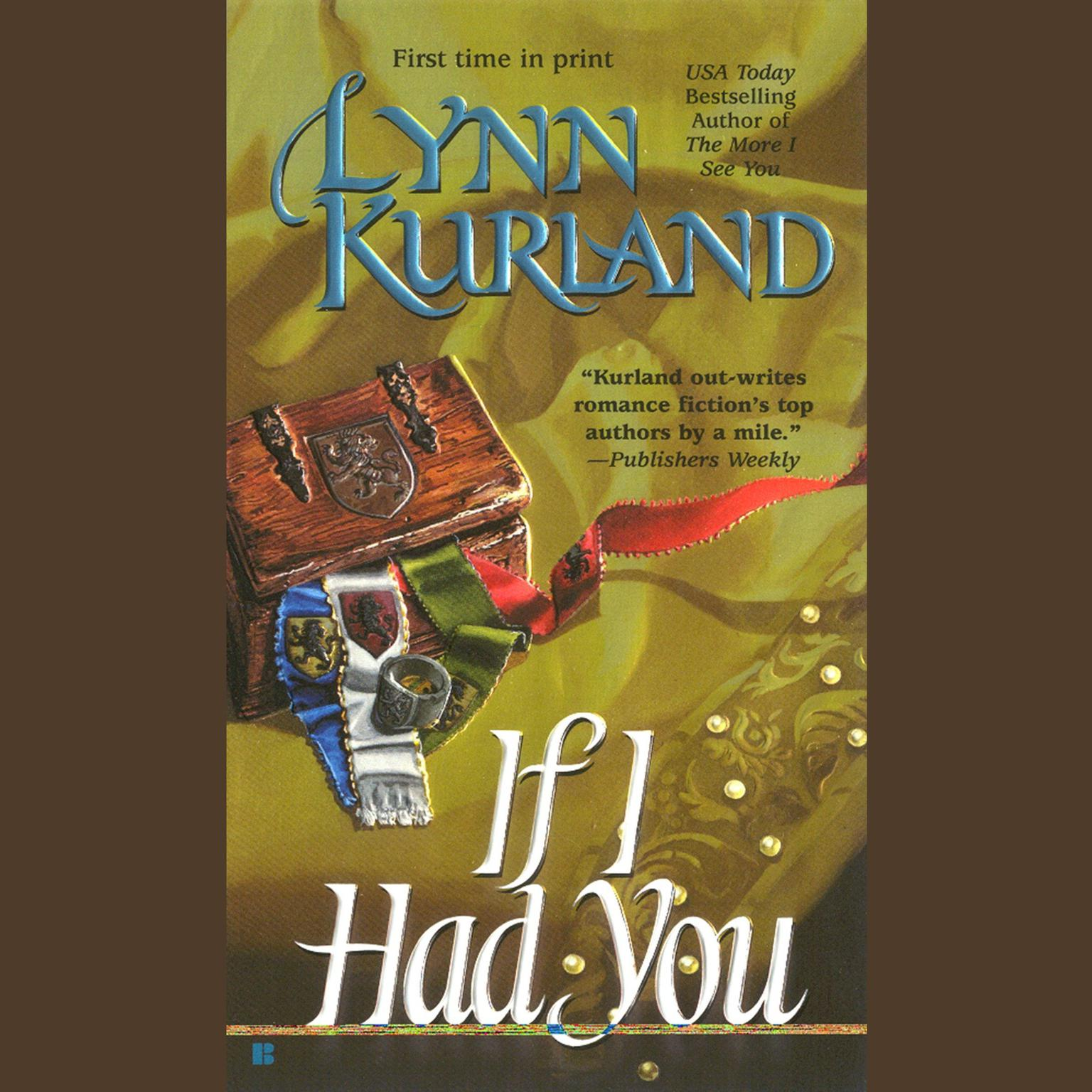 Printable If I Had You Audiobook Cover Art