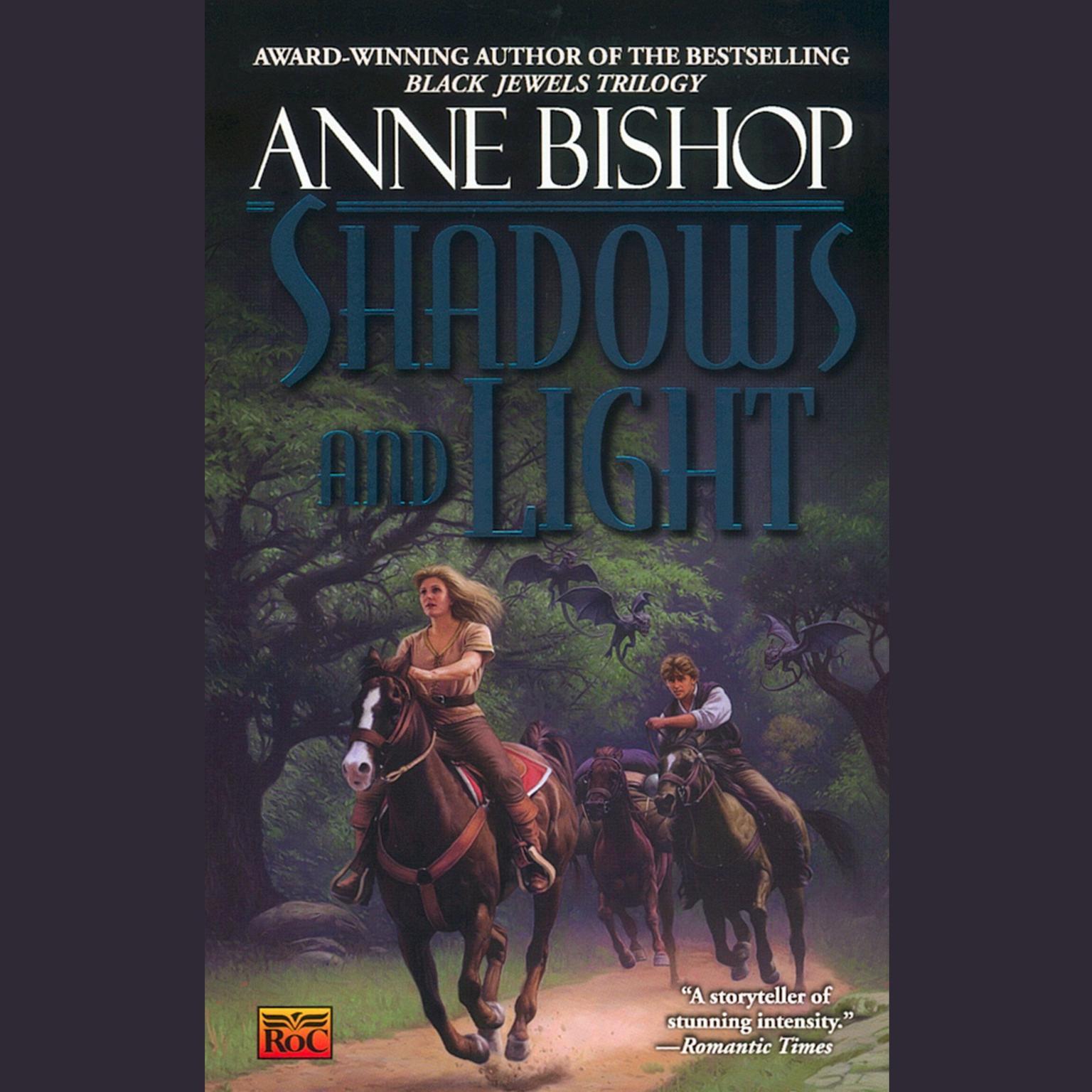 Printable Shadows and Light Audiobook Cover Art