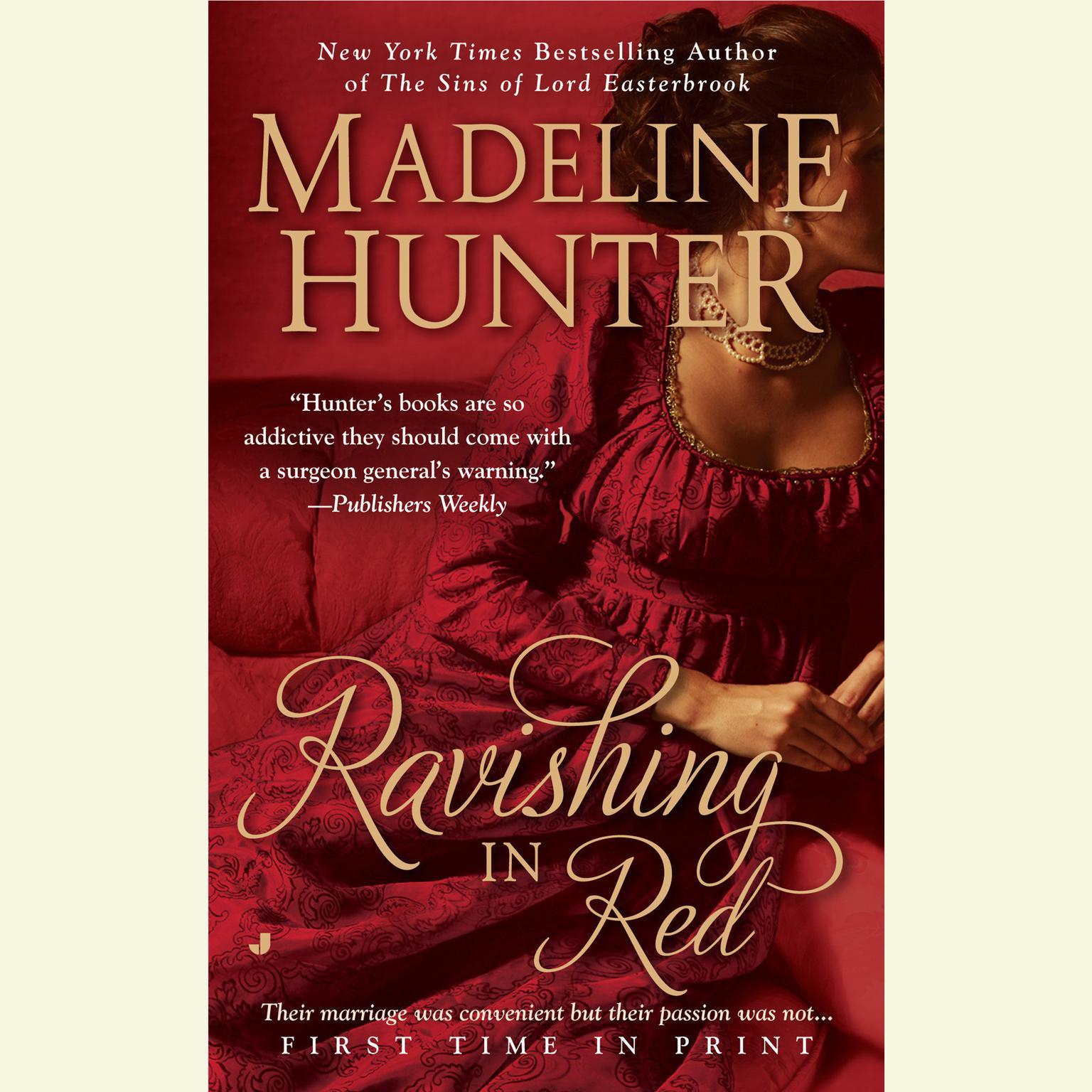 Printable Ravishing in Red Audiobook Cover Art