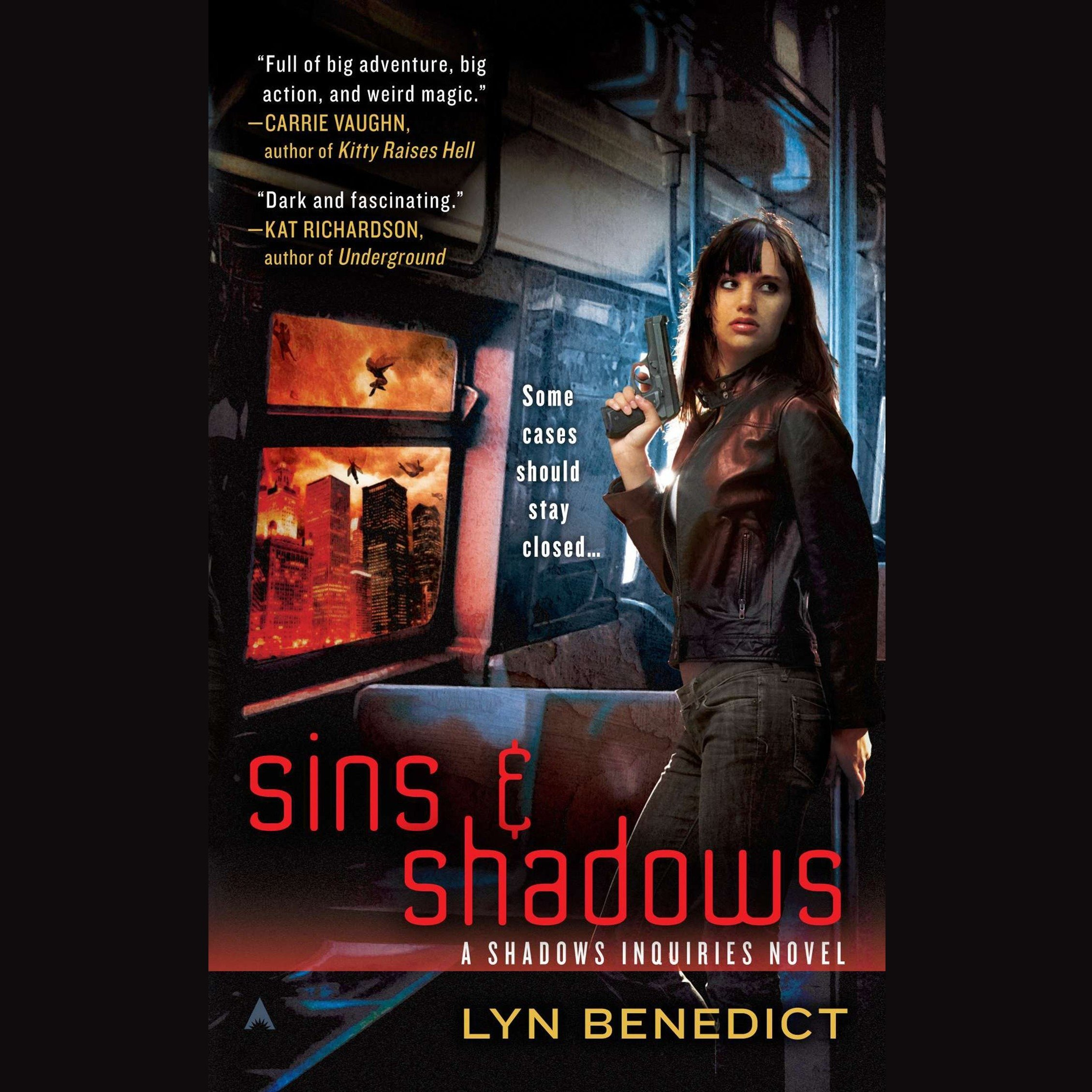 Printable Sins & Shadows: A Shadows Inquiries Novel Audiobook Cover Art