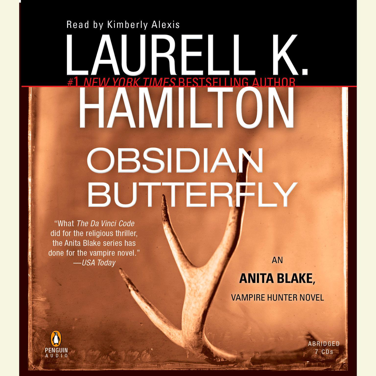 Printable Obsidian Butterfly: An Anita Blake, Vampire Hunter Novel Audiobook Cover Art