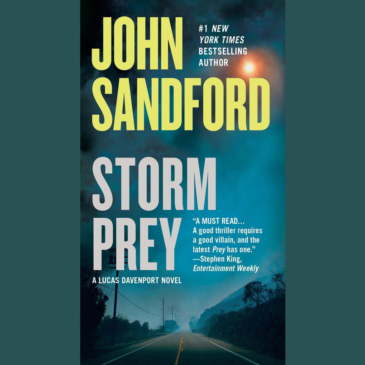 Printable Storm Prey Audiobook Cover Art