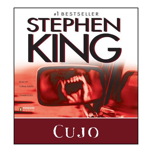 Printable Cujo Audiobook Cover Art