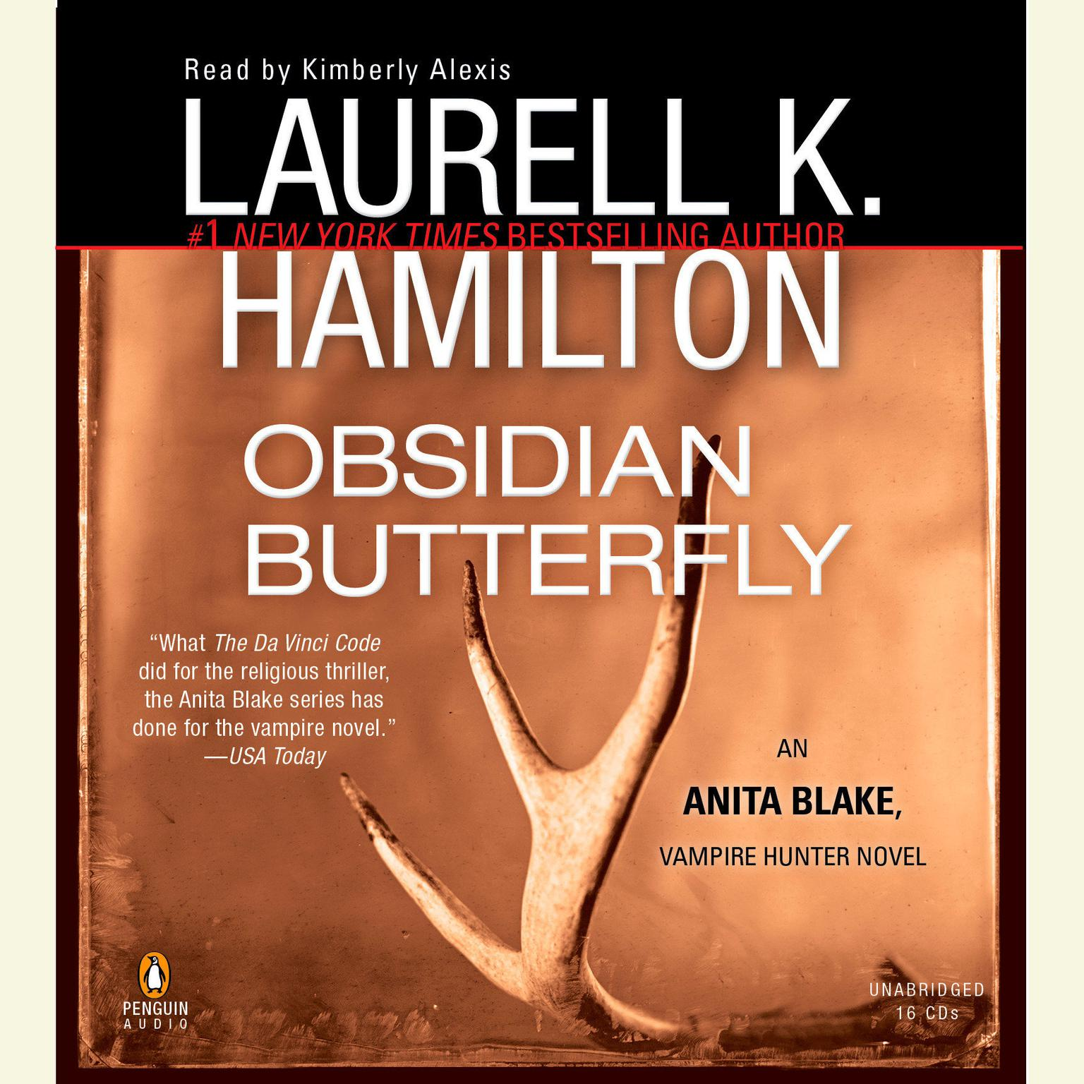 Printable Obsidian Butterfly: An Anita Blake, Vampire Hunter Novel Audiobook Cover Art