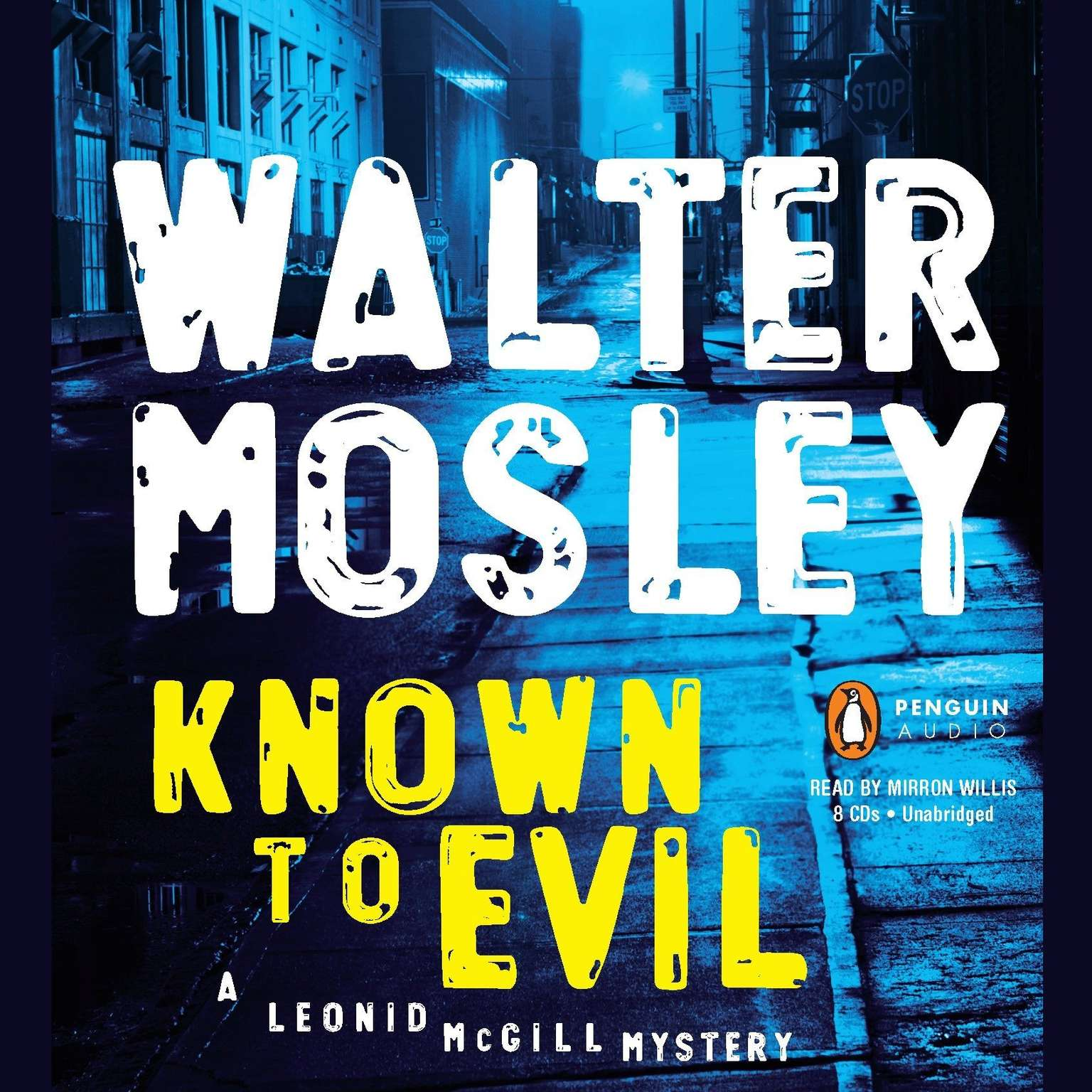 Printable Known to Evil: A Leonid McGill Mystery Audiobook Cover Art
