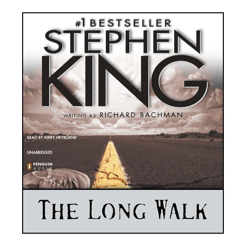 Printable The Long Walk Audiobook Cover Art