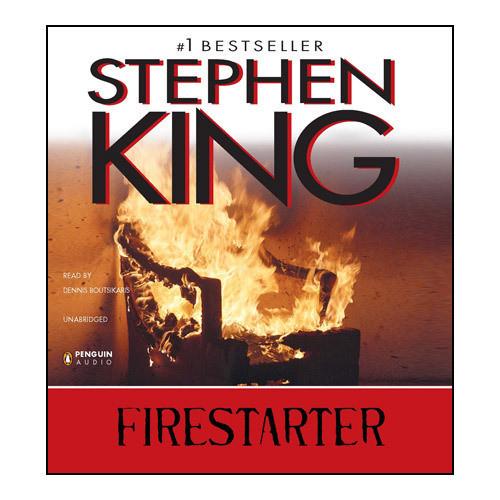 Printable Firestarter Audiobook Cover Art