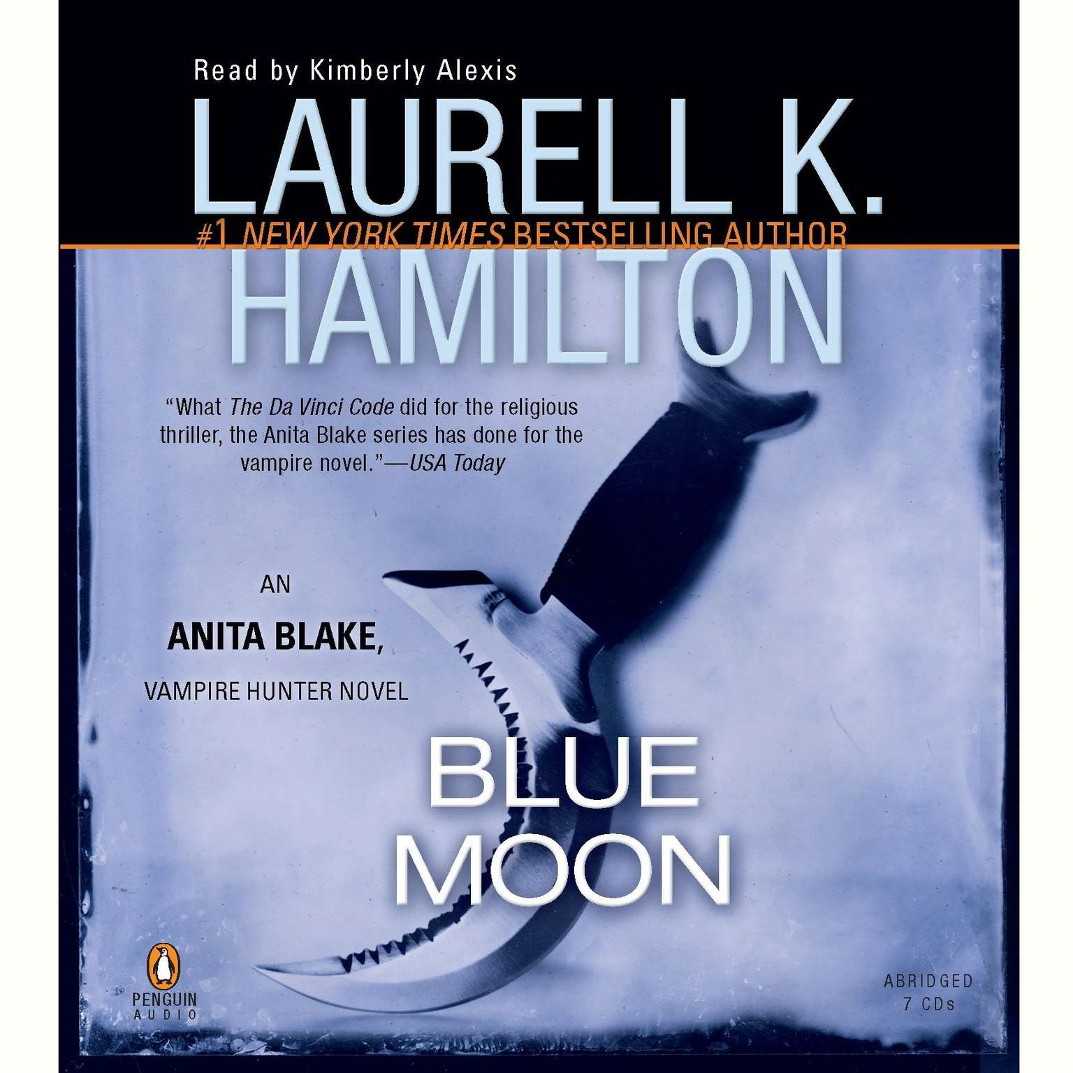 Printable Blue Moon Audiobook Cover Art