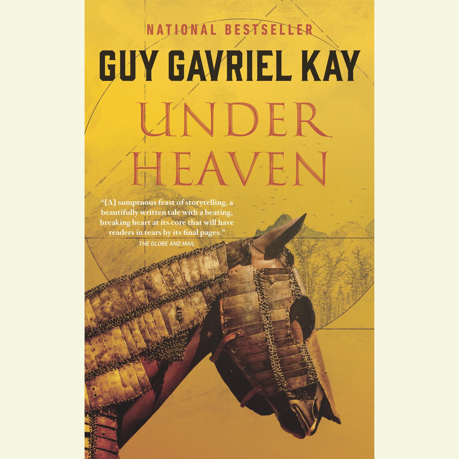 Printable Under Heaven Audiobook Cover Art