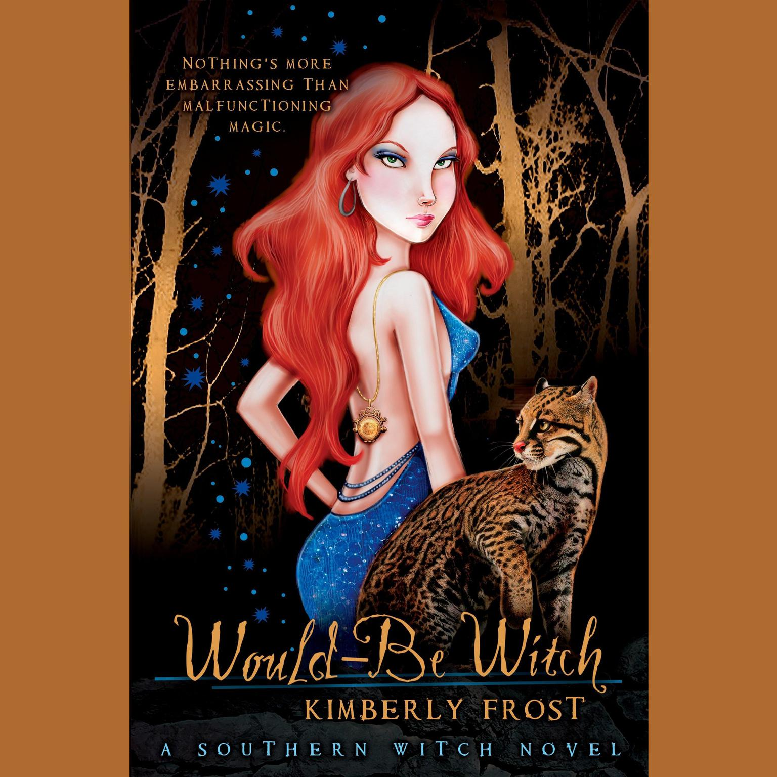 Printable Would-Be Witch Audiobook Cover Art