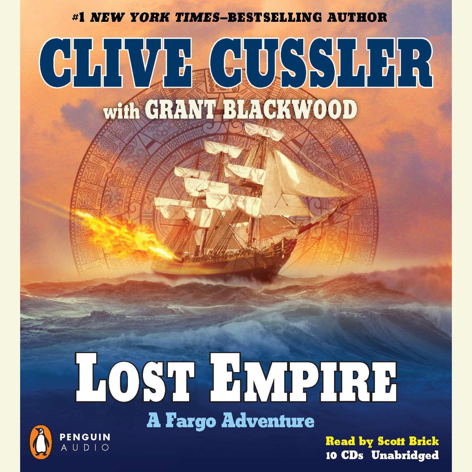 Printable Lost Empire: A Fargo Adventure Audiobook Cover Art