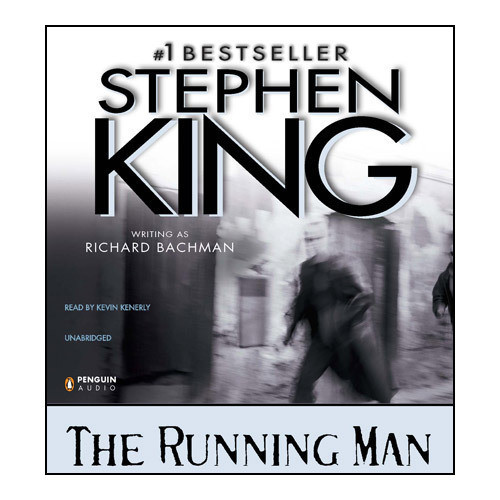 Printable Running Man: The Audiobook Cover Art