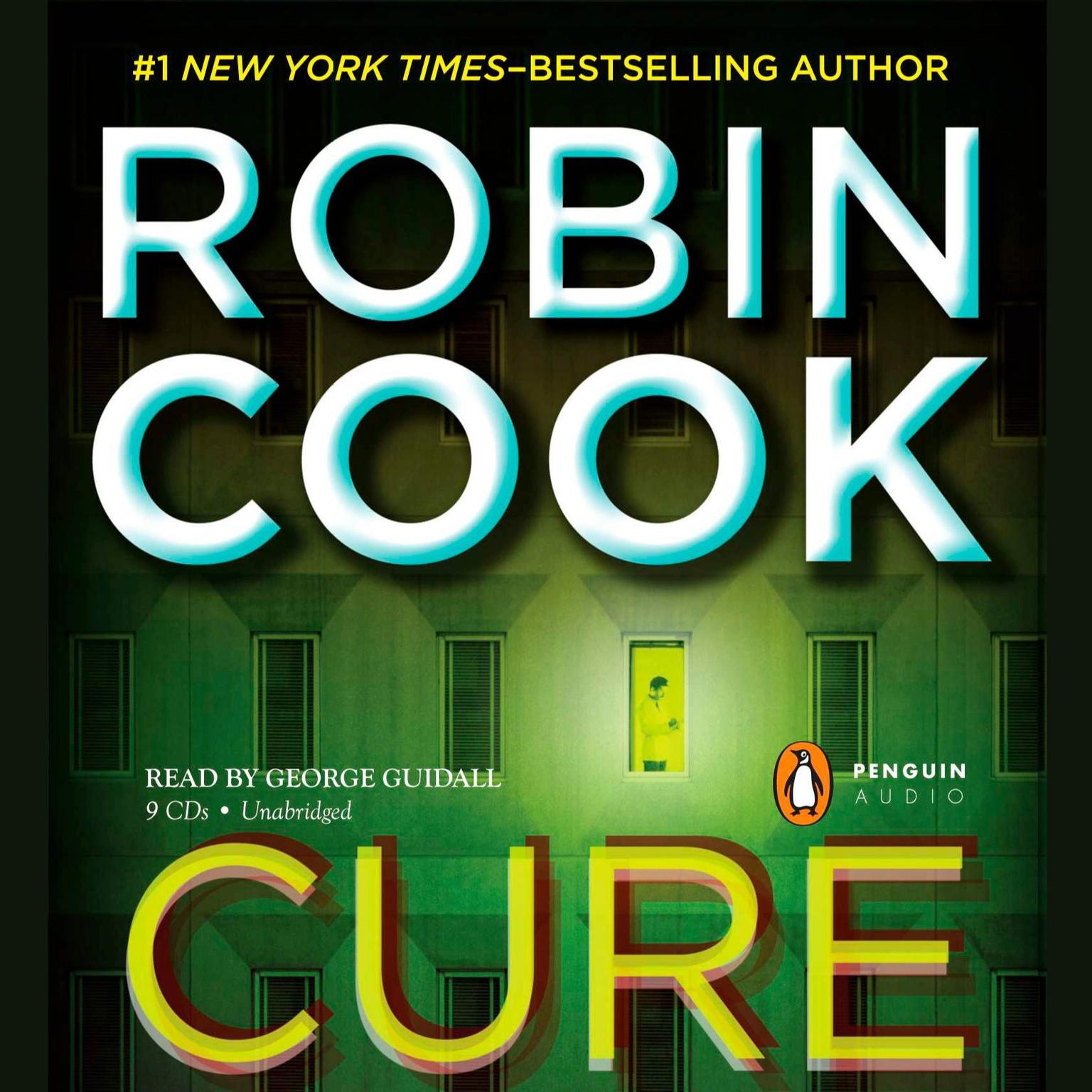Printable Cure Audiobook Cover Art