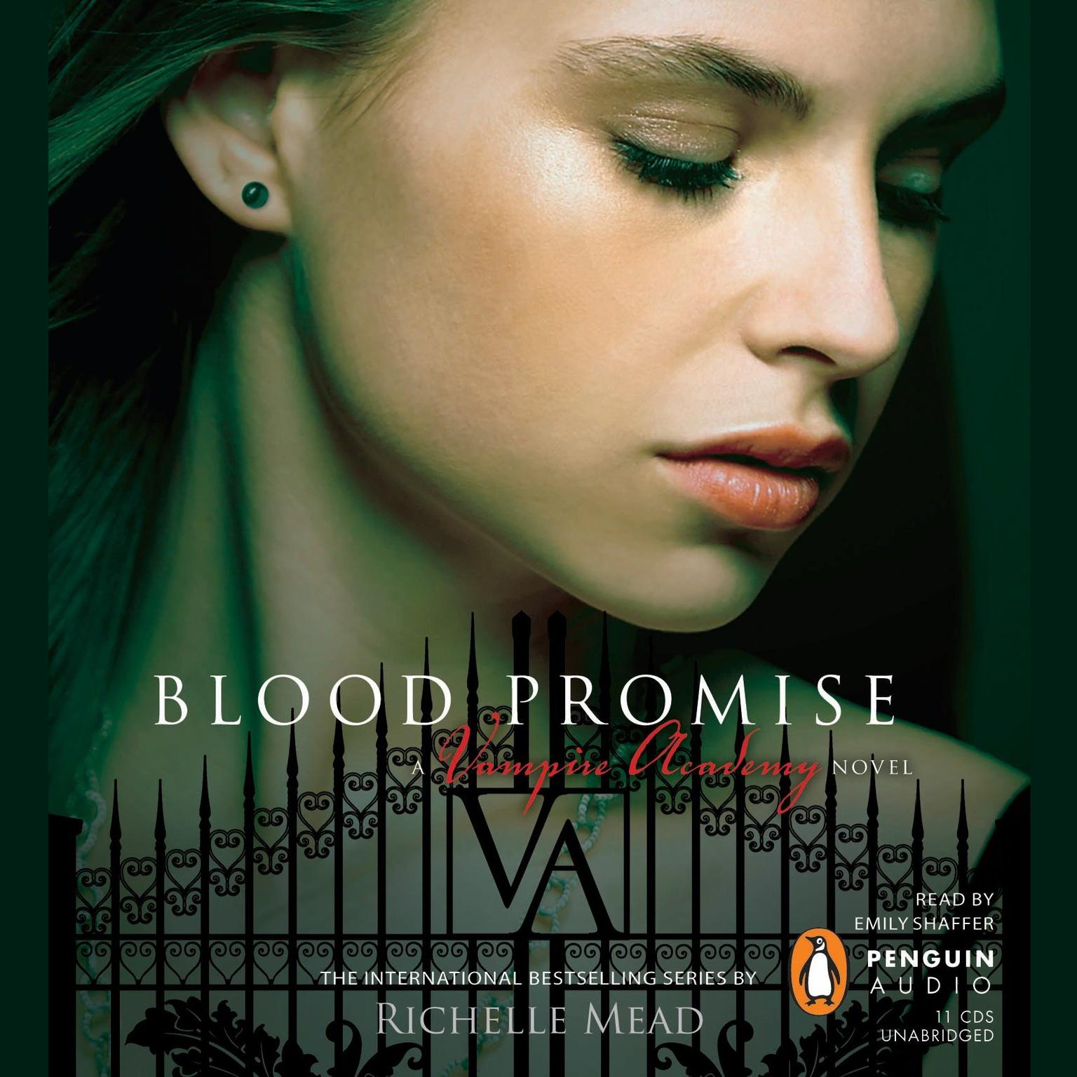 Printable Blood Promise Audiobook Cover Art