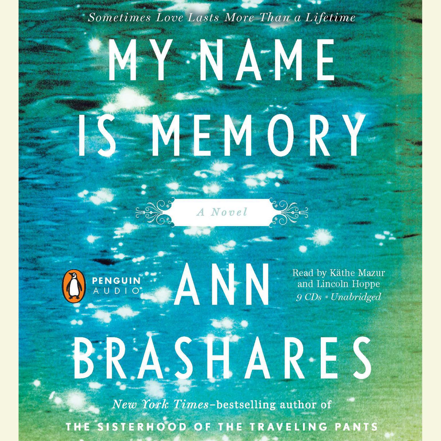 Printable My Name Is Memory Audiobook Cover Art