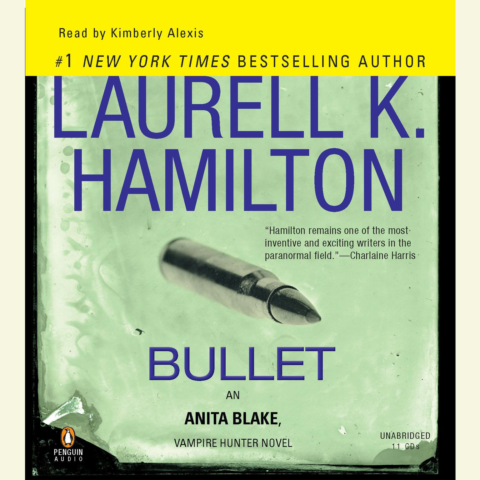 Printable Bullet: An Anita Blake, Vampire Hunter Novel Audiobook Cover Art