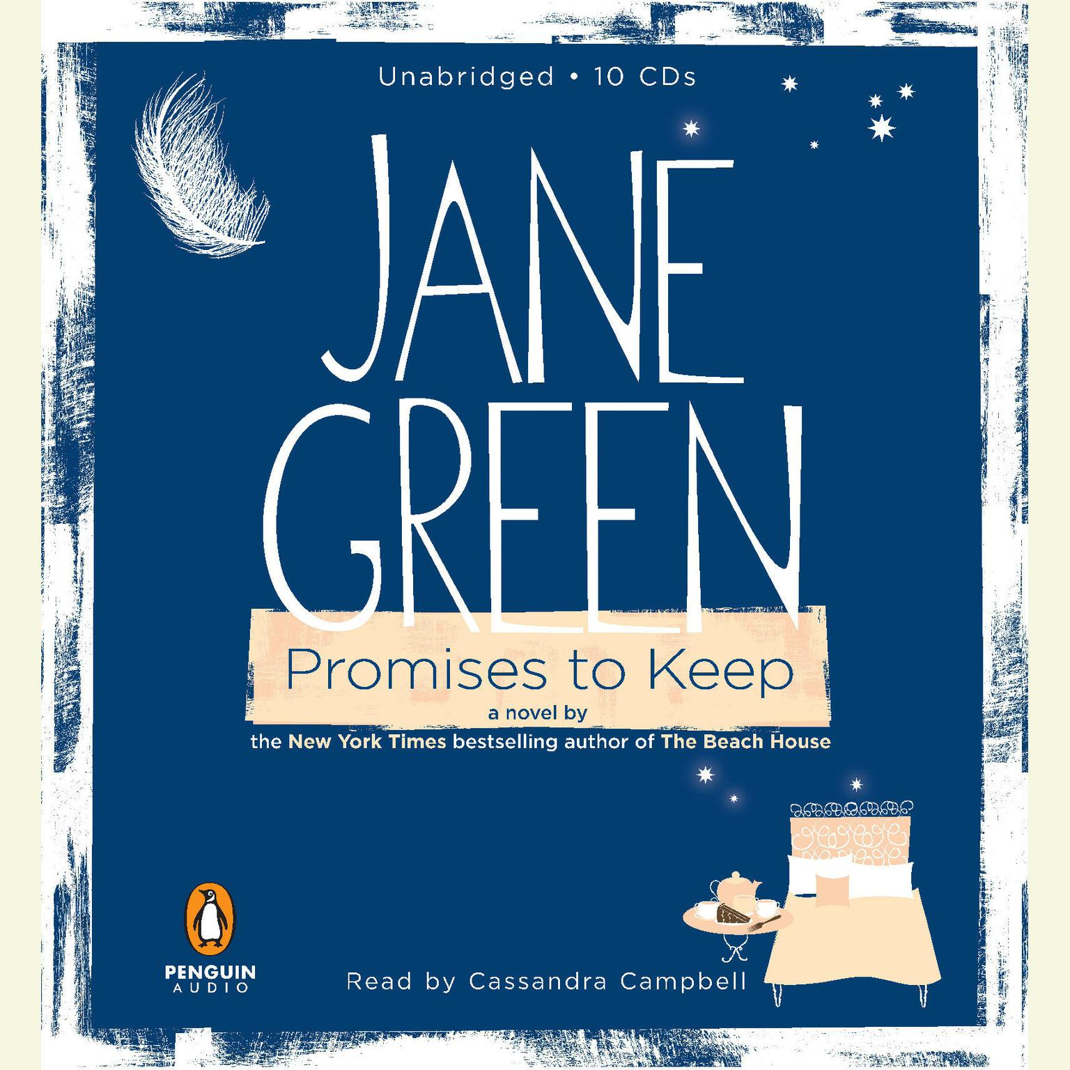 Printable Promises to Keep: A Novel Audiobook Cover Art