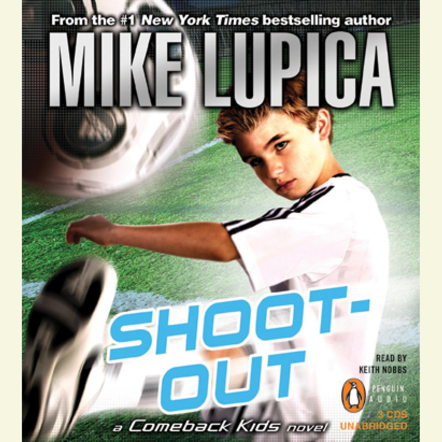 Printable Shoot-Out: A Comeback Kids Novel Audiobook Cover Art