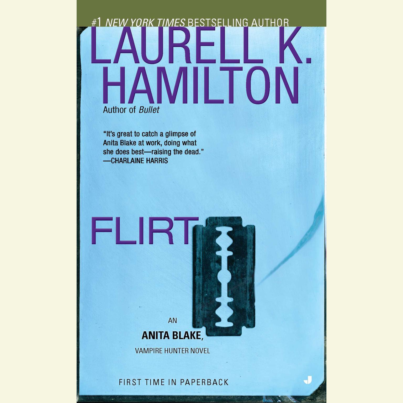 Printable Flirt: An Anita Blake, Vampire Hunter Novel Audiobook Cover Art