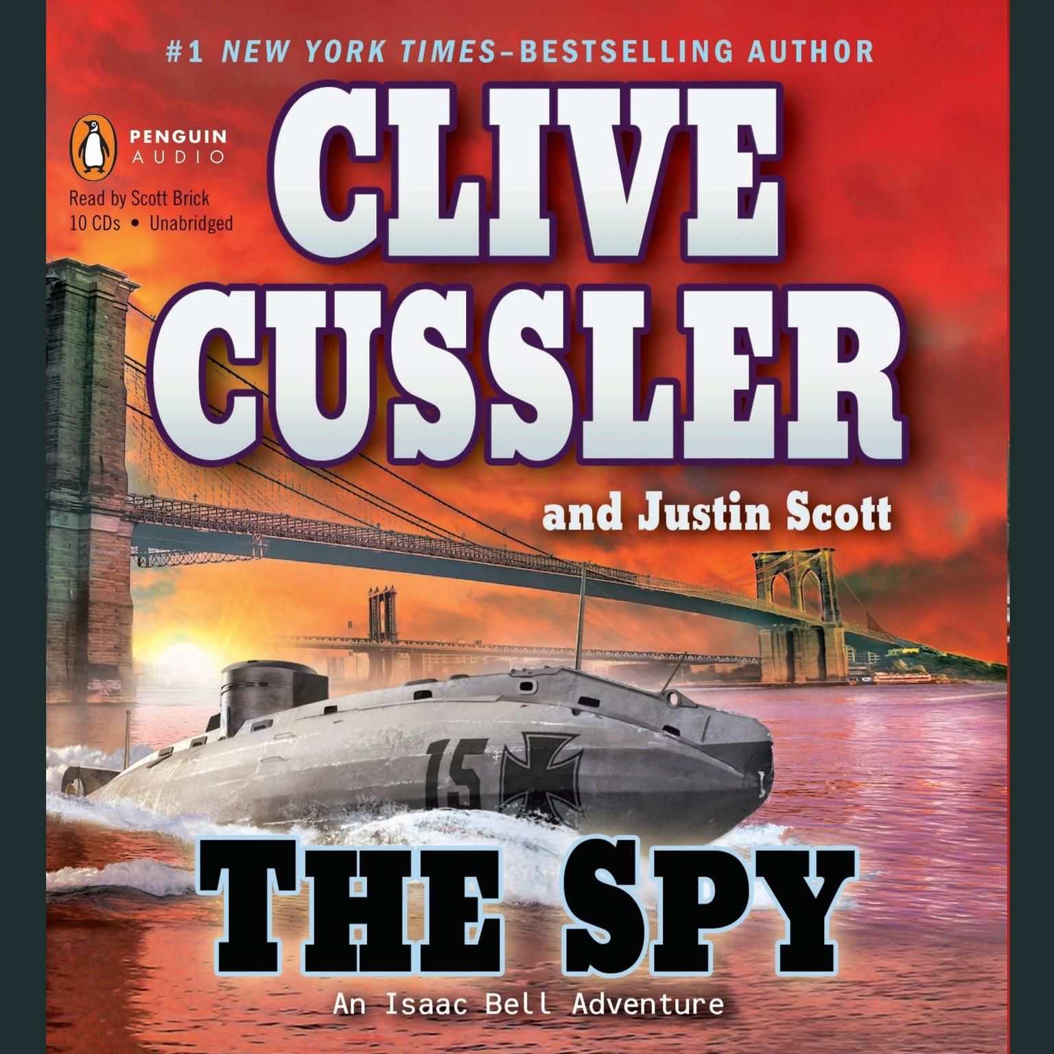 Printable The Spy Audiobook Cover Art